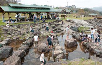 魚つかみ取り体験、釣り体験